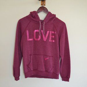 """American Eagle Outfitters """"Love"""" Hoodie - M"""